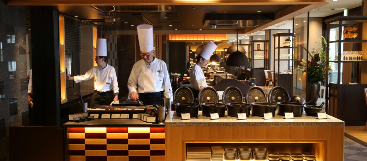 グランドプリンスホテル新高輪 ブッフェ&カフェ スロープサイドダイナーザクロ